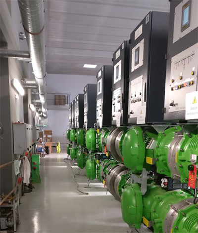 72.5 kV F35 GIS using g3 SF6-free alternative installed in Grimault substation in France
