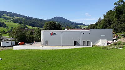 GIS using SF6-free gas g3 at Axpo substation in the Swiss Alps